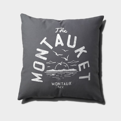 Montauket Canvas Throw Pillow
