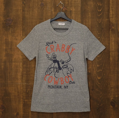 Rick's Crabby Cowboy Cafe Tri-Blend Tee