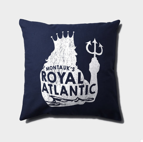 Royal Atlantic Canvas Throw Pillow