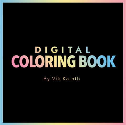 Digital Colouring Book - Vik Kainth