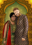 COUPLE CUSTOM PORTRAIT