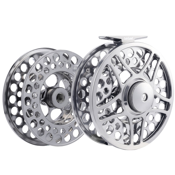 Money-saving Fly Reel Combo 9/11 110mm 3BB Full Metal Fly Fishing Reel - USA