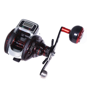 6.3:1 Baitcaster Reels Line Counter Reels Low Profile Baitcasting Reel