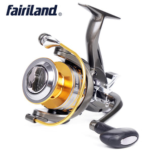 FRA3000-6000 10BB 5.1:1 Front & Back Drag Spinning Fishing Reel with Spare Spool Lure Fishing Gear