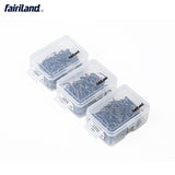100pcs Blade Iseama Carbon Steel Flat Handle None Eyed Barbed Hooks 11/12/13# Carp Fishhook