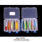 10pcs 12cm/22g Hard Pencil Bait 10 Colors with Lure Box Solution Available