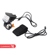 600Lm 5200mAh USB Rechargeable Bicycle Front Light Anti-glare Hi-power Cycling Headlight Lamp Torch