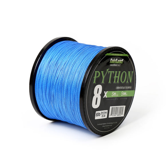 fairiland 547yd 8 Braided PE Fishing Line 21-80LB Multifilament Fish Line - USA