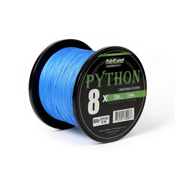 fairiland 328yd 8X PE Braided Fishing Line 21-80LB Multifilament Fish Line - USA
