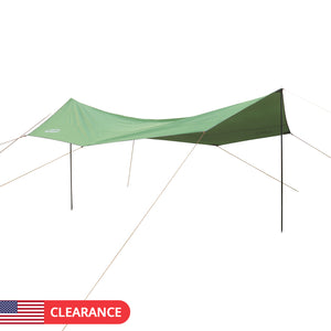 5*5*2.5m Large Camping Sun Shelter Waterproof Beach Tarp Tent Portable Canopy Awning Sunshade-USA