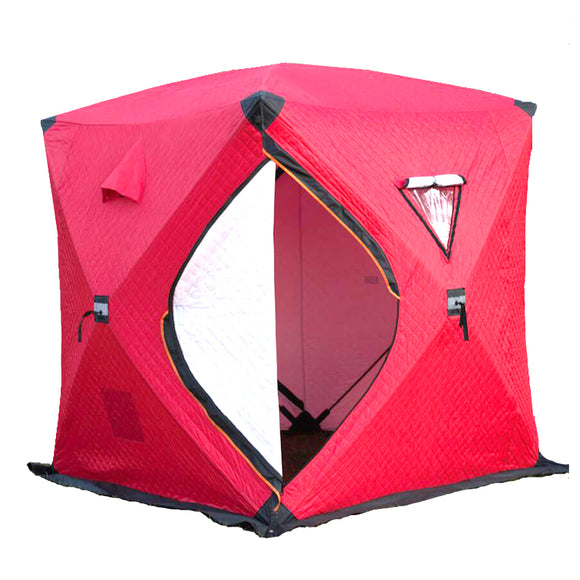 3-4 Persons Ice Fishing Tent pop-up Ice shelter