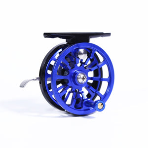 60mm Multi-color Full Aluminum Ice Fishing Reel Left/Right Handed CNC machined Ice Reel
