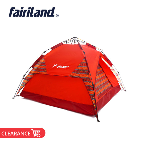 3-person Outdoor Instant Setup Tent Automatic Pop up Camping Tent Double Layer Beach Sunshade
