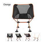 Foldable Fishing Chairs Bearing 330lb Weight w/ Stable Large Feet