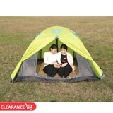 3 person Breathable Mosquito Mesh Camping Beach Tent Ultralight Aluminum Pole Double Layer QuickOpen