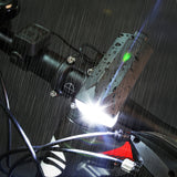 Bike Headlight Electronic Horn Bell Cycling Front Bicycle Lamp USB LED 6000K T6 360Lm 120DB Speaker
