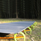 Portable Outdoor Folding Single Bed Lightweight Foldable Cot Camping Military Hiking Medical-USA