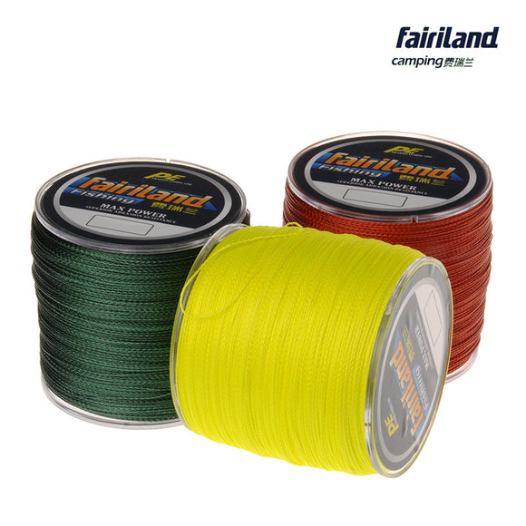 500m 10lb-70lb Multifilament Braided Super Fishing Line 4 Strands PE Line Wire for Carp Fishing