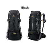 60L Multi-Day Hiking Backpack Large Capacity Unisex Splash-proof Travel Bag