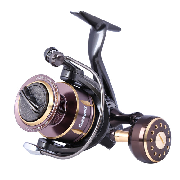 fairiland CEDAR Fishing Reel 10BB Spinning Reel Up-to 33lb Drag Power