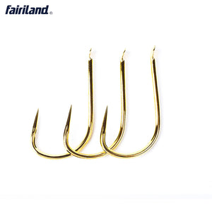 100pcs SHIN KANTO Flat Eye Barbless Carbon Steel Hook 5/6/7# Japan Imported Tournament Carp Fishhook
