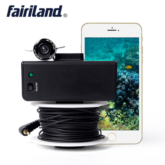 WiFi Fish Finder with 3.0 Mega Pixel HD Camera 140-degree Wide Angle Lens Infrared LED Lights