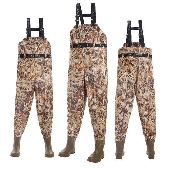 Fishing Waders Breathable Chest Waders Boot Foot Waders 41-46# 203M