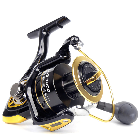 11BB 4.2:1 BANDO 7000/8000/10000 Boat Spinning Fishing Reel - USA