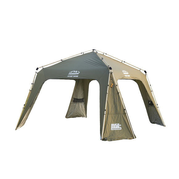 12-person Family Camping Tent Instant Open Ultra Large Sun Shelter
