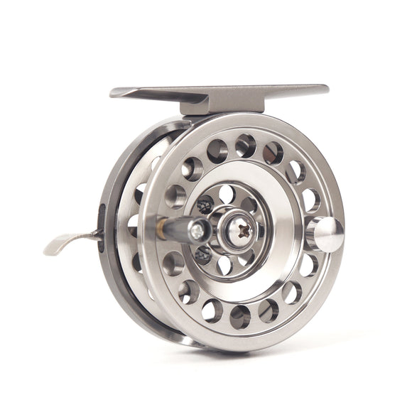 Full Aluminum Ice Fishing Reel Left/Right Handed CNC machined Ice Reel