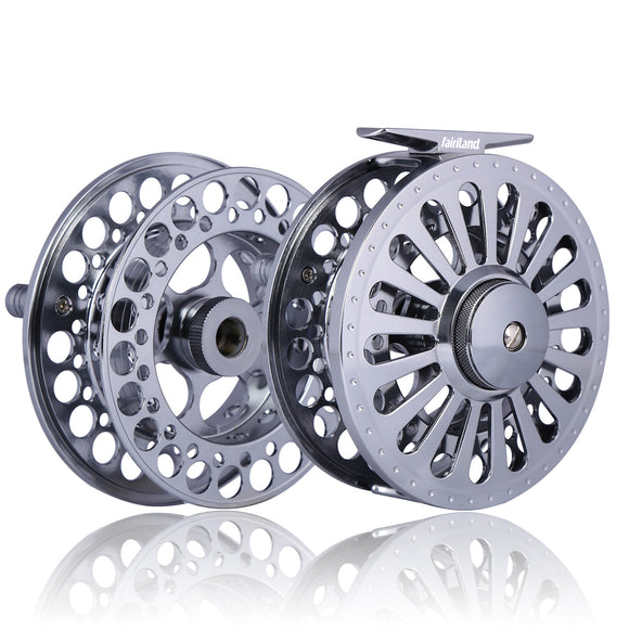Money-saving Fly Reel Combo Full Aluminum Reel and Spare Spool - USA