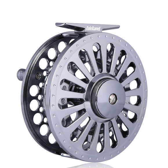 Full Aluminum Fly Reel 1/2 3/4 5/6 7/8 Large Arbor Fly Fishing Reel
