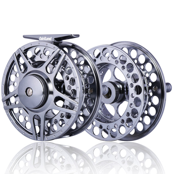 Money-saving Fly Reel Combo Full Aluminum Reel and Spare Spool