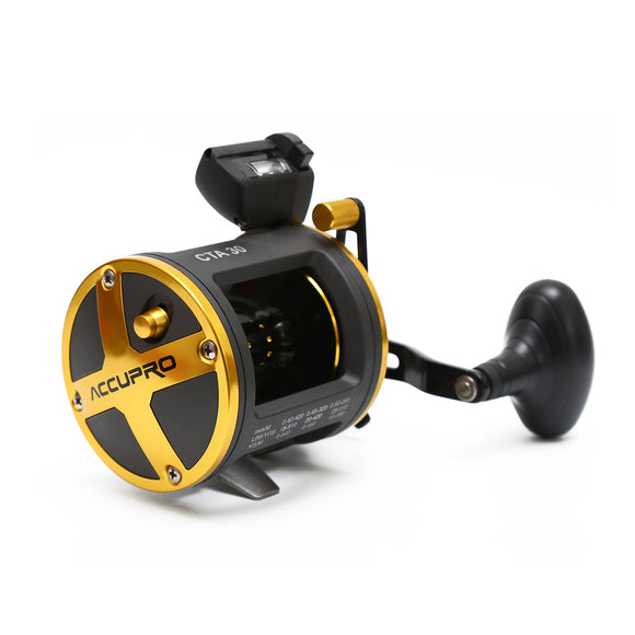 Drum Trolling Reel with Digital Counter LEFT/RIGHT HAND 12-18Kg Drag Power