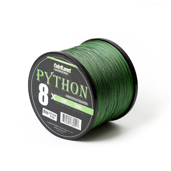 Fairiland 500m 8 Braided PE Fishing Line 21-80LB Freshwater Multifilament Fishing Wire FishingTackle