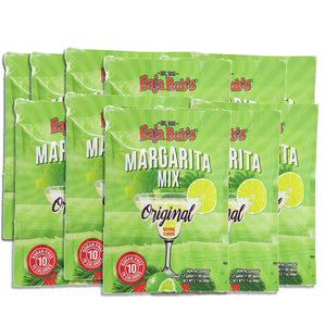 Baja Bob's Original Margarita Mix - 60g Powder Packet - Sugar Free Cocktail Mix Packet
