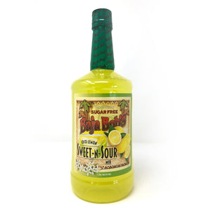Baja Bob's Sweet & Sour Mix - 1.75 Liter - Sugar Free Cocktail Mixer