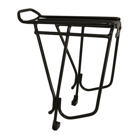 Oxford Alloy Disc Compatible Luggage Rack - Black
