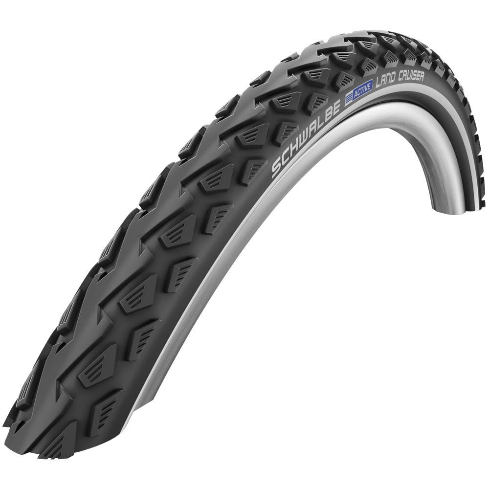 SCHWALBE LAND CRUISER WIRED AL TYRE – BLK