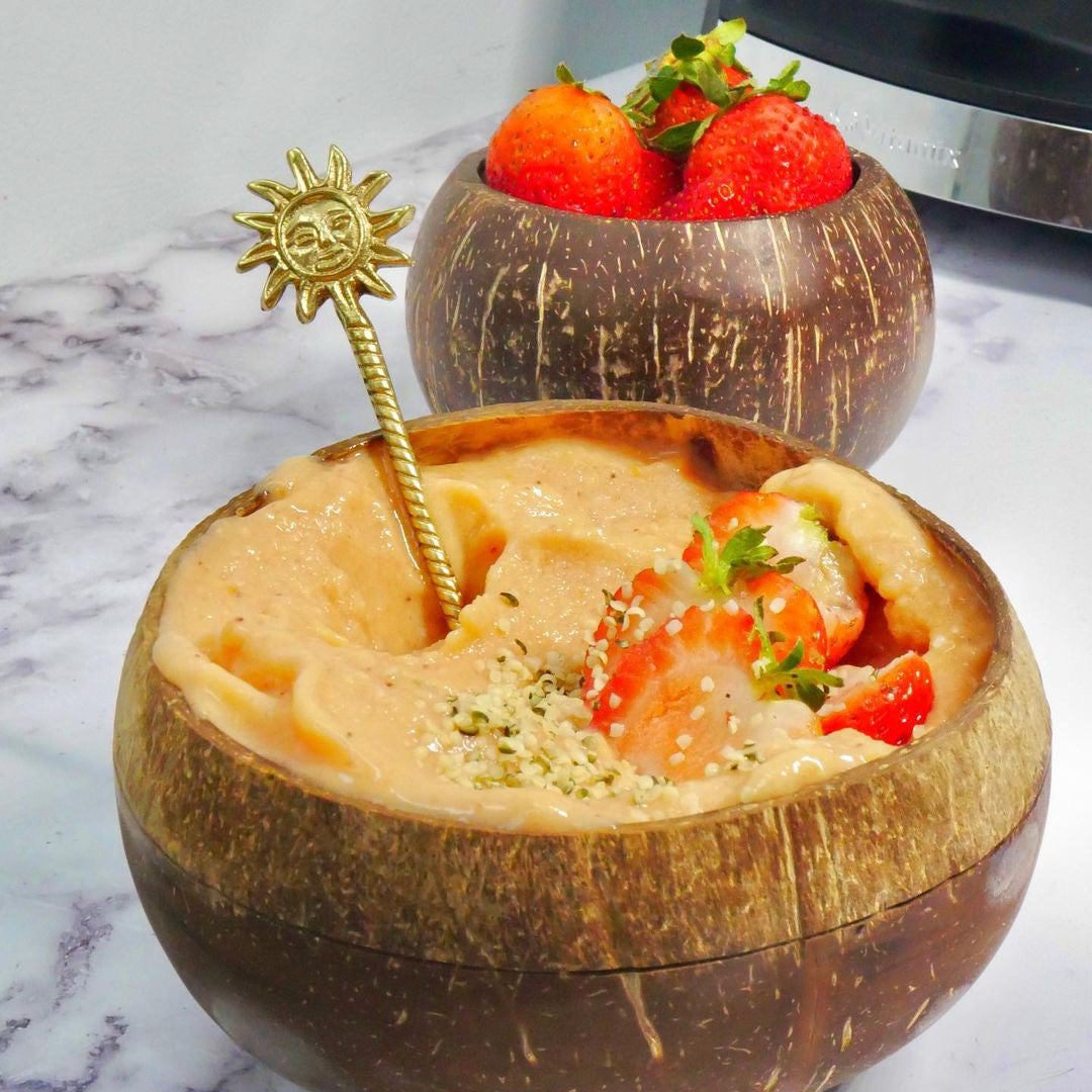 Papaya Banana Smoothie Bowl