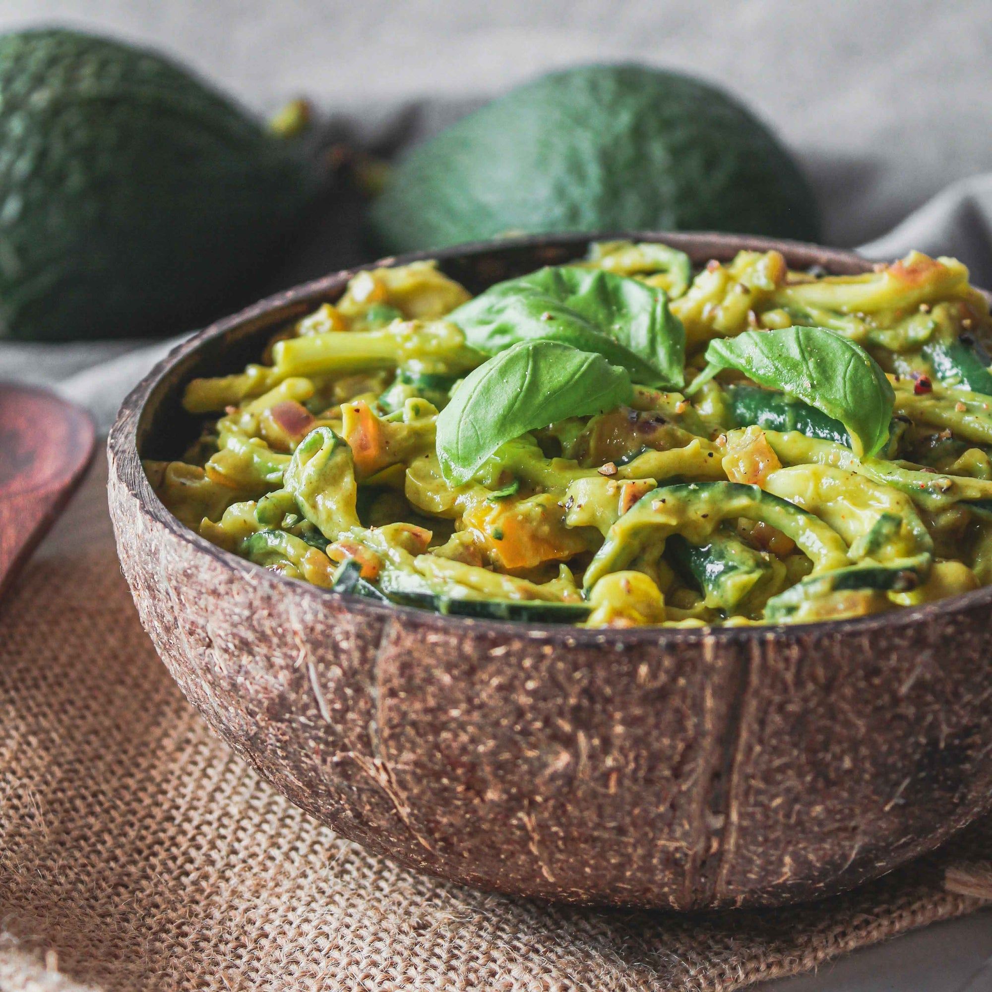 Avocado Herb Zoodles