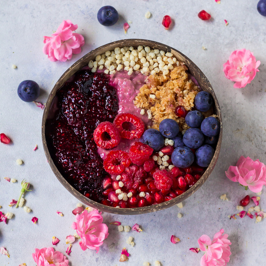 Beetroot Raspberry Porridge