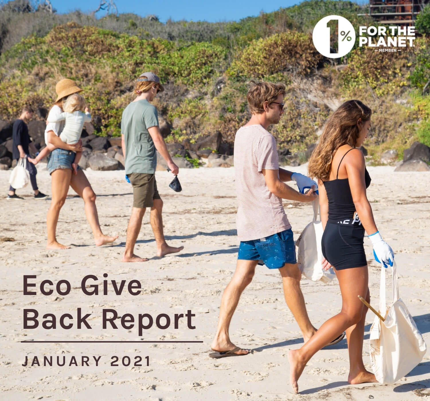 January Eco Give Back Report