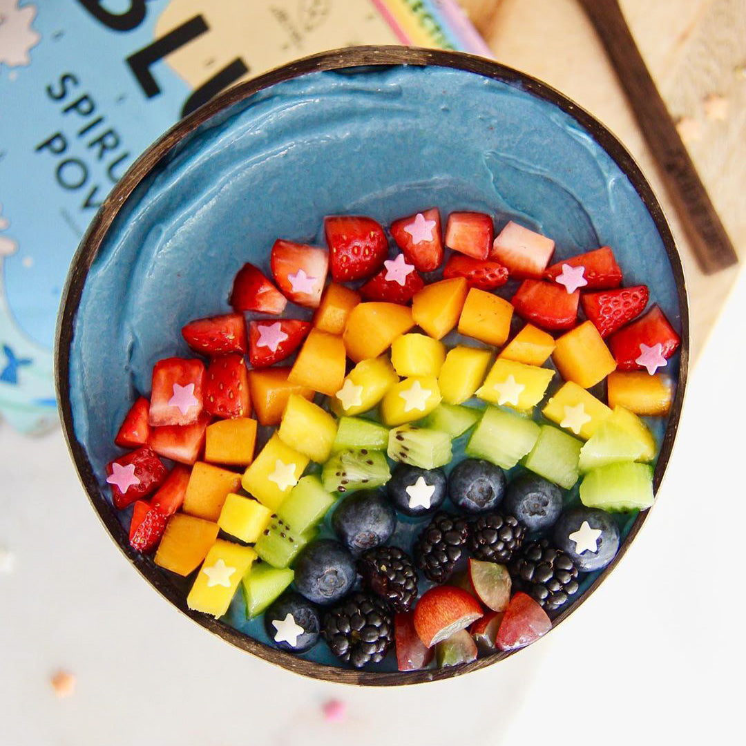 Rainbow Smoothie Bowl