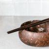 Wooden Buddha Chopsticks by Coconut Bowls