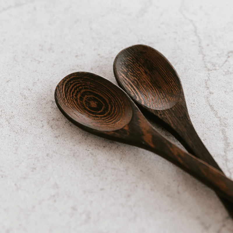 Wooden Buddha Spoon