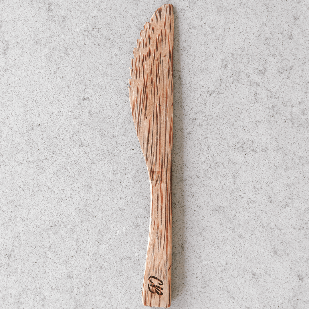 Wooden Coconut Knife by Coconut Bowls