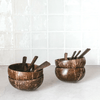 Original Coconut Bowls - Family Pack - All Cutlery