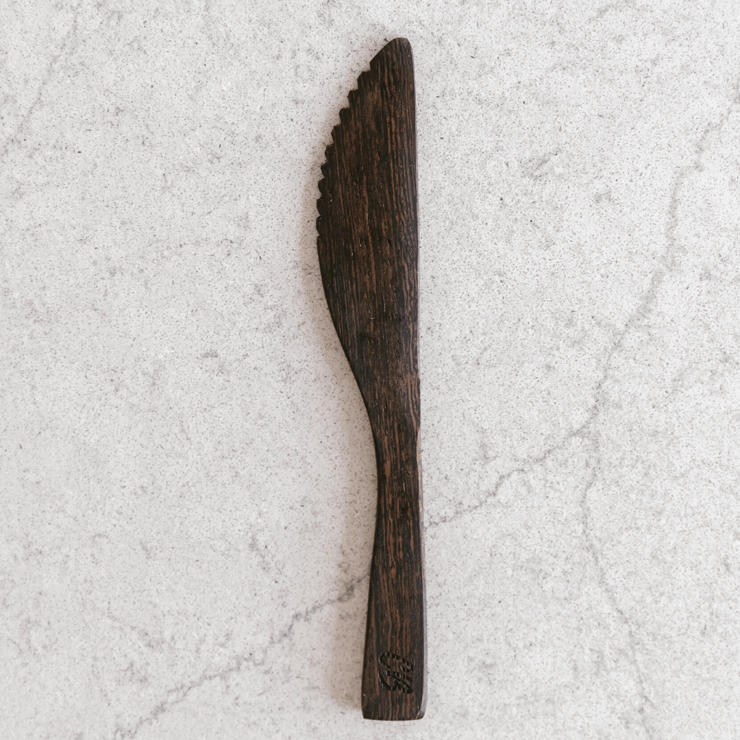 Wooden Buddha Knife