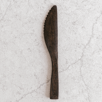Wooden Buddha Knife by Coconut Bowls